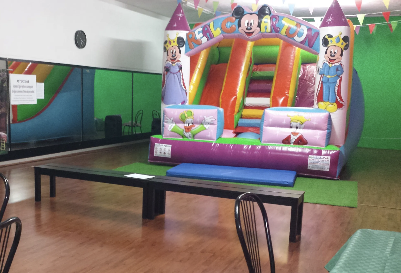 Sala per feste e compleanni