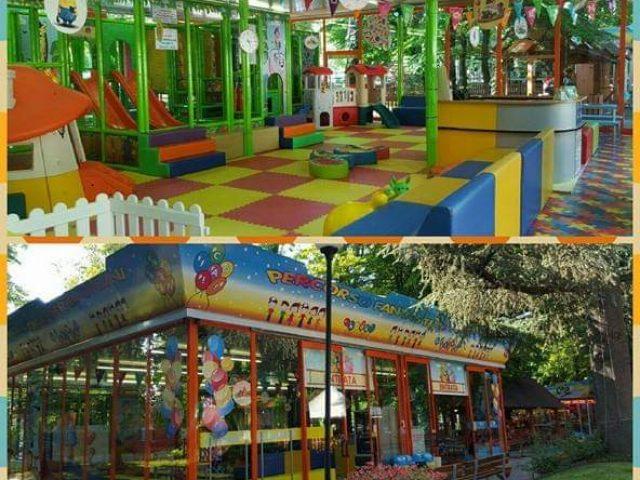 Parco Giochi Leo gonfiabili