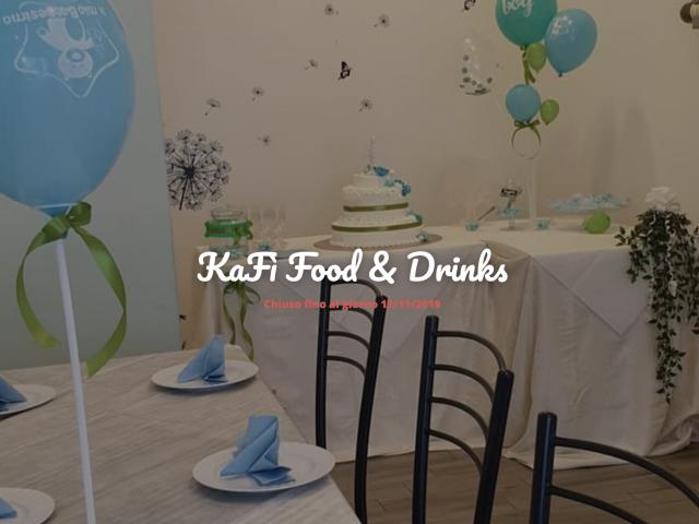 Kafì Food & Drinks