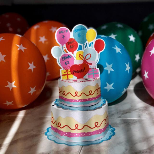 Anche i genitori festeggiano il compleanno